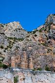 Chrám apolla v delphi, řecko — Stock fotografie