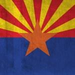 Grunge Flag of Arizona — Stock Photo