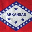 Stock Photo: Grunge Flag of Arkansas