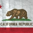 Stock Photo: Grunge Flag of California