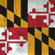 Grunge Flag of Maryland — Stock Photo