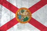Grunge flag of Florida — Stock Photo