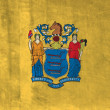 Stock Photo: Grunge Flag of New Jersey
