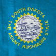 Stock Photo: Grunge Flag of South Dakota