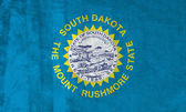 Grunge Flag of South Dakota — Stock Photo