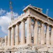 The Temple of Athena at the Acropolis — Stock Photo #1586217