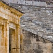 Stock Photo: View of the Greek ancient theater