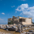 Erecthion temple on acropolis, Athens — Stockfoto