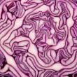 Close-up of cut red cabbage — Stock Photo #1658327