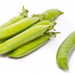 Pods of fresh green peas — Stock Photo #1761889