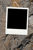 Blank card with soft shadow — Stock Photo