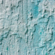 Blue cracked paint — Stock Photo