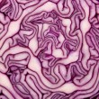 Close-up of cut red cabbage — Stock Photo #1887249