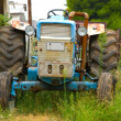 Stock Photo: The old tractor