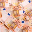 Euro banknotes background — Stock Photo #2135371