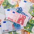 Euro banknotes background — Stock Photo #2135463