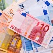 Euro banknotes background — Stock Photo #2135598