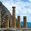 Apollo temple. Delphi. Greece — Stock Photo