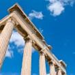 Erechtheion temple on acropolis — Stock Photo