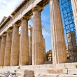 The Temple of Athena at the Acropolis — Stock Photo #2405915