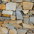 Closeup view of the old stone wall — Stock Photo