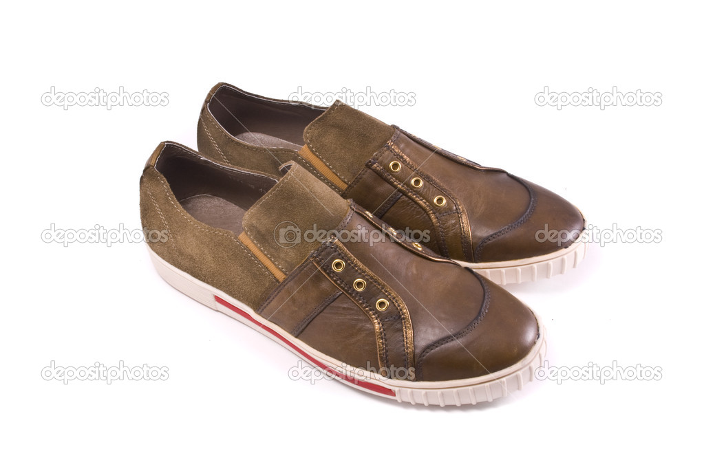 Brown shoes — Stock Photo #2495815