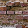 Medieval bricks wall background — Stock Photo