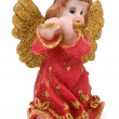 Christmas doll an angel — Stock Photo