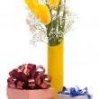 Bouquet from yellow tulips - Stock fotografie