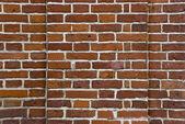 Gammalt tegel mur — Stockfoto