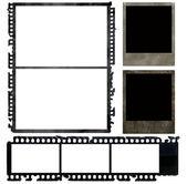 Aged negative films — Stock Photo