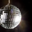 Disco ball with lights — Stock Photo