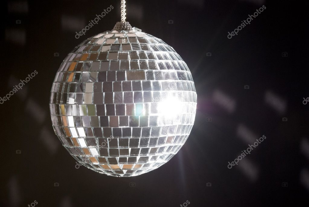 Disco ball with lights — Stock Photo #2648937