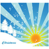 Sunny holiday background — Stock Vector