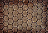 Grunge pattern metal plate — Stock Photo