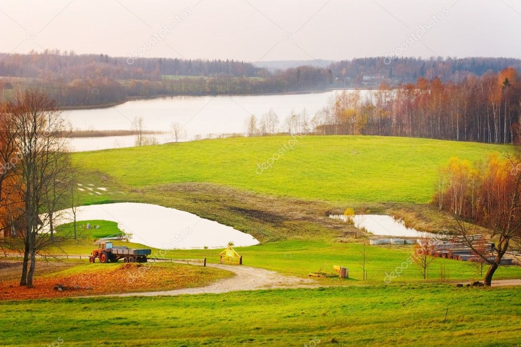 Landscape of Latvia — Stock Photo © miolana #1536797