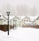 Snow storm — Stock Photo
