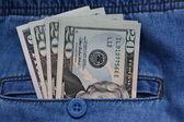 Pocket money — Stock Photo