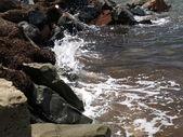 Przy brzegu morza. — Zdjęcie stockowe
