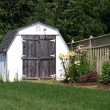 Small shed - Stock Photo