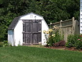 Small shed — Stock Photo