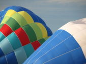 Colorful hot air balloons. — Stock Photo
