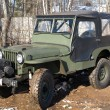 Stock Photo: 1947 Military jeep