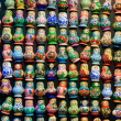 Matryoshka doll souvenirs — Stock Photo
