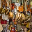 Music instruments shop. - Stock Photo