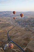 Balloons over Cappadocia — Photo