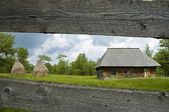 Typical farmer house. — Stock Photo