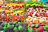 Candy stand — Stock Photo
