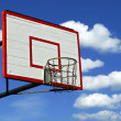 Outdor basketball hoop - Stock Photo