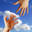 Helping Hand — Stock Photo